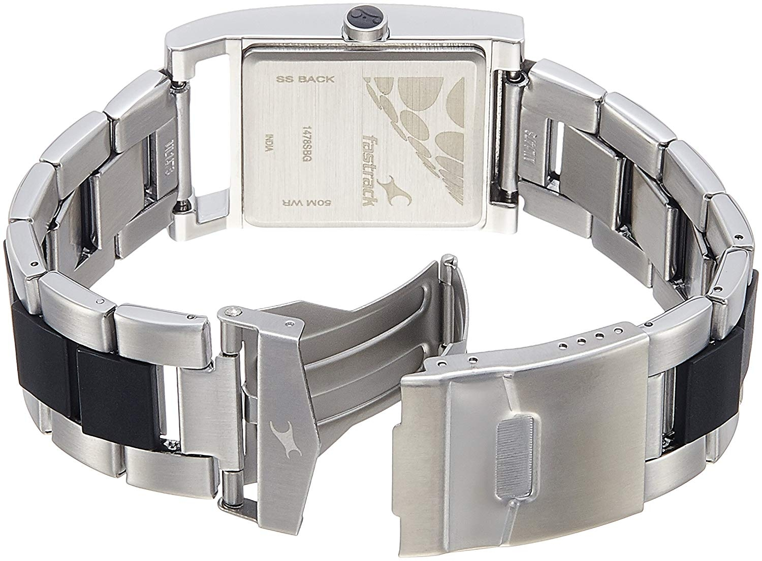 300049d16224b0 Adixion Watches - Buy Rectangle Silver Stainless Steel Wrist Watch Online