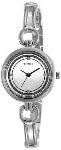 Timex Analog White Dial Women's Watch