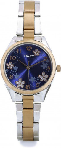 Timex TW000Y611 Analog Rose Gold Dial Women's Watch