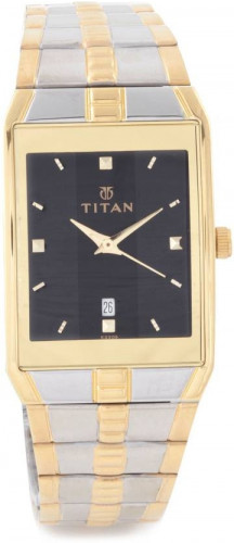 Titan Karishma Analog Black Dial Men's Watch