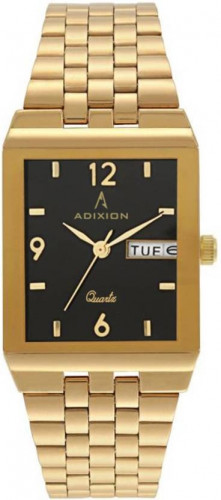 ADIXION AD1918YMG01 New Gold Day & Date rectangle watch Watch