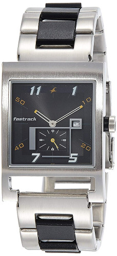 Fastrack Party Analog Black Dial Men's Watch