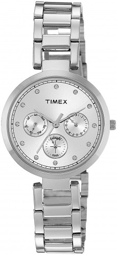 Timex TW000X211 Analog Silver Dial Women's Watch