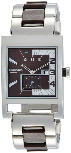Fastrack Analog Brown Dial Men's Watch