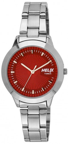 helix Pink Dial Analogue Watch(TW022HL04)