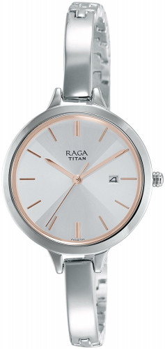 Titan Raga Viva Analog Silver Dial Women's Watch