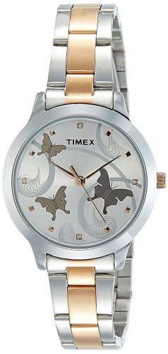 Timex TW000T607 Analog Rose Gold Dial Women's Watch