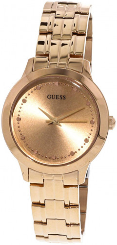Guess Chelsea Analog Rose Gold Dial Women's Watch