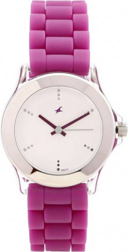 Fastrack 9827PP06 Beach Upgrades Analog White Dial Women's Watch
