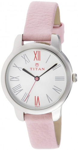 Titan Youth Analog White Dial Women's Watch