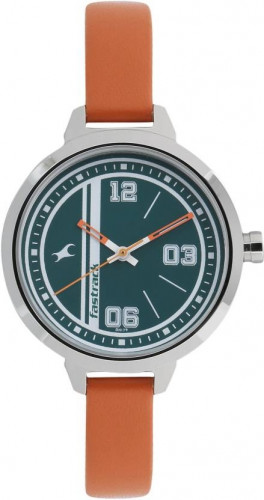Fastrack Varsity Analog Silver Dial Women's Watch