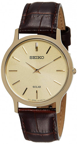 Seiko Analog Beige Dial Men's Watch