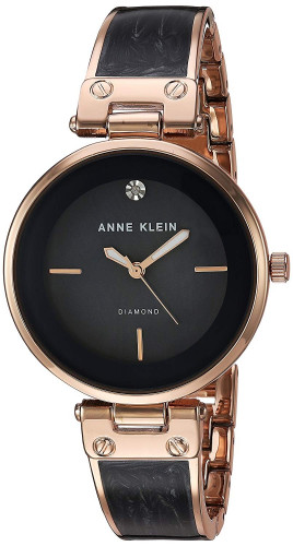 Anne Klein Grey Mother of Pearl Dial Analog Watch