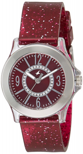 Fastrack 9827PP20 Trendies Analog Red Dial Women's Watch