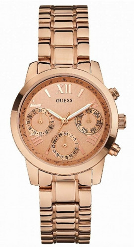 Guess Chronograph Rose Gold WatchW0448L3