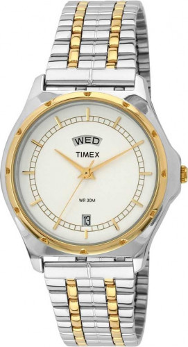 Timex BW03 Classics Analog White Dial Men's Watch