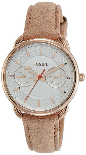 Fossil Tailor Analog Silver Dial Women's Watch