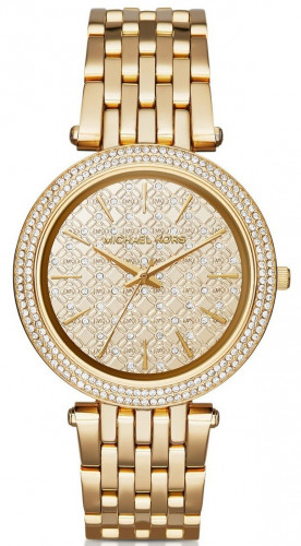 Michael Kors Analog Gold Dial Women's Watch