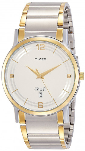 Timex TW000R424 Classics Analog Silver Dial Men's Watch