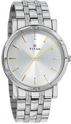 Titan 1639SM01 Karishma Analog Of white Dial Men's Watch