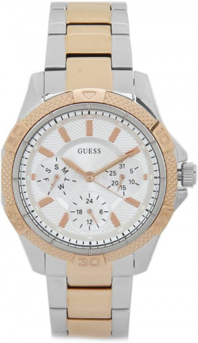 Guess Analog Silver Dial Women's Watch