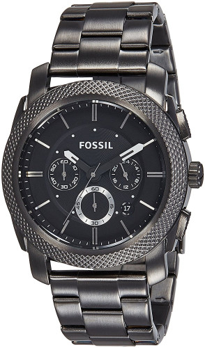 Fossil Chronograph Black Dial Men's Watch