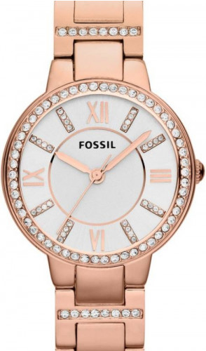 Fossil Analog Silver Dial Women's Watch