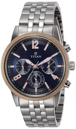 Titan Neo Analog Blue Dial Men's Watch
