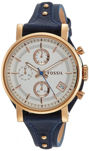 Fossil ES3838  Analog Silver Dial Women's Watch