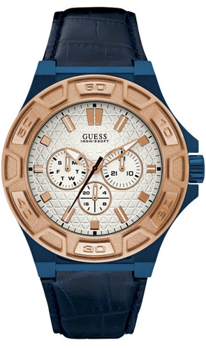 Guess Force White Dial Multi