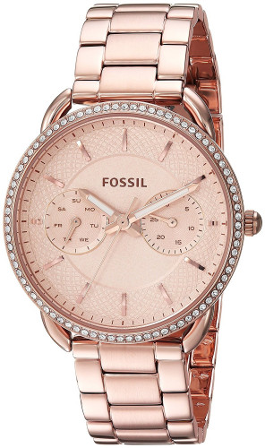Fossil ES4264 Analog Rose Gold Dial Women's Watch