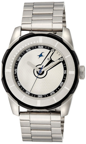 Fastrack Economy 2013 Analog Silver Dial Men's Watch