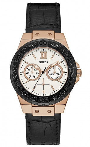 Guess Limelight Analog White Dial Women's Watch