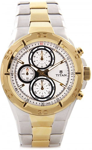 Titan NH9308BM01 Octane Hybrid Watch