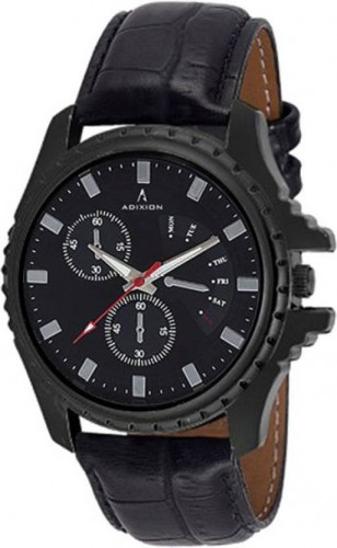 ADIXION 133NLB1 New Chronograph pattern Genuine Leather Youth Watch Watch