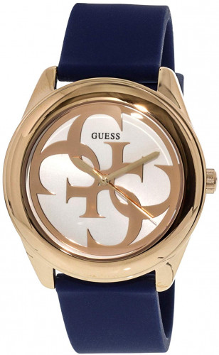 Guess G Twist Analog White Dial Women's Watch