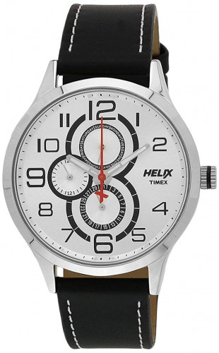 Helix Analogue Black Dial Men's Watch