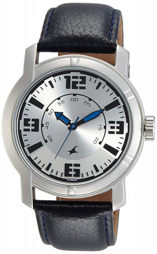 Fastrack Analog Silver Dial Men's Watch