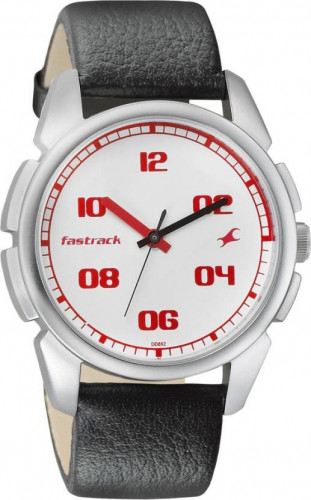 Fastrack Analog White Dial Men's Watch