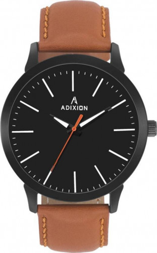 ADIXION BQ2311SM01 New Leather Strep Stainless Steel Youth Watch Watch