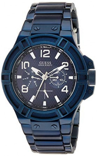 GUESS W0218G4 Blue Dial Analogue Watch(W0218G4)