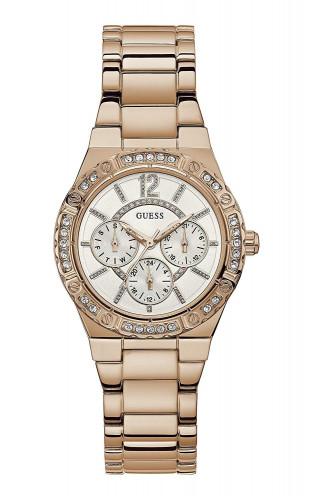 GUESS W0845L3 Analog White Dial Unisex Watch