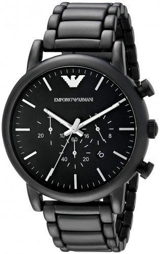 Emporio AR1895 Armani Chronograph Black Dial Men's Watch