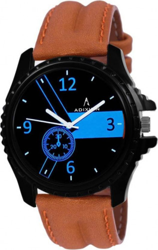 ADIXION 133NLA14 Youth Stainless Steel watch with Genuine Leather Strep Watch