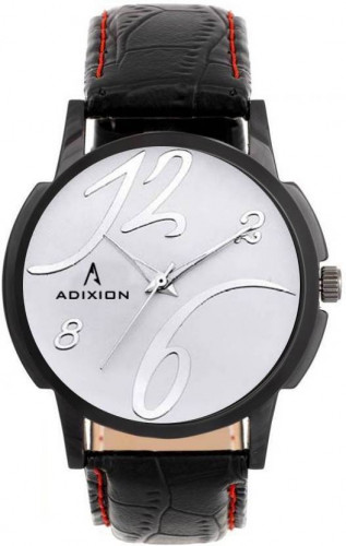 ADIXION 9502NLB2 New Leather Strap Mattel Case Analog Watch Watch