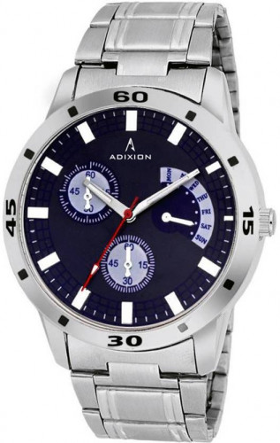 ADIXION 9519SM04 New Stainless Steel Chronograph Pattern Watch