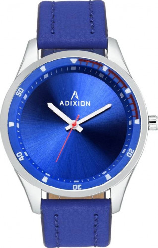 ADIXION 9533SLA4 New Leather Strep Stainless Steel Youth Watch Watch
