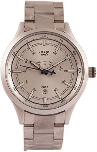 Helix Analogue Gold Dial Men's Watch