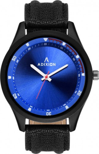 ADIXION 9533SL004 New Leather Strep Stainless Steel Youth Watch Watch