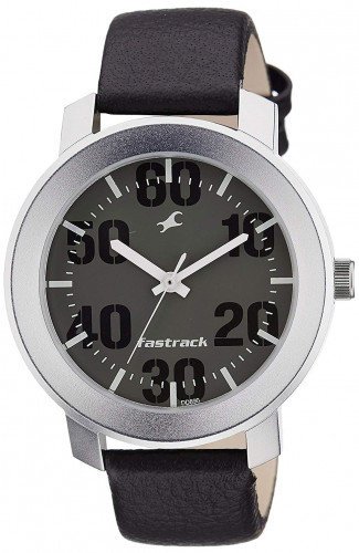 Fastrack Casual Analog Grey Dial Men's Watch